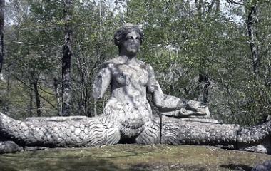 Echidna sculpture