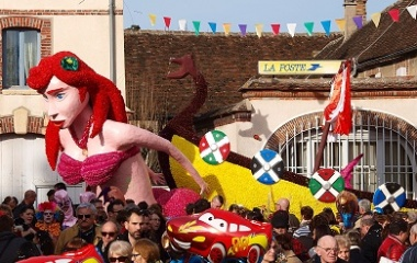 Mermaid in carnaval