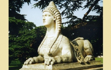 Sphinx at Chiswick House
