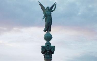 Angel statue, Copenhagen