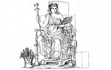 about demeter the greek goddess