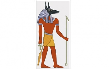 Drawings of Anubis