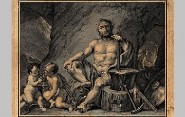 Hephaestus engraving