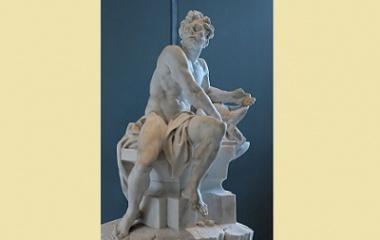 Hephaestus sculpture