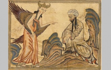Mohammed and archangel Gabriel
