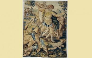 Odysseus fakes insanity