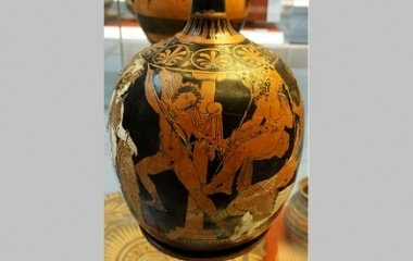 Oedipus in ancient Greek pottery