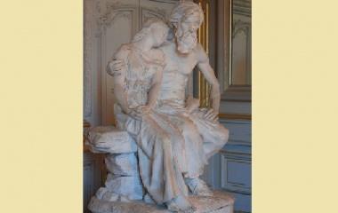 Oedipus statue