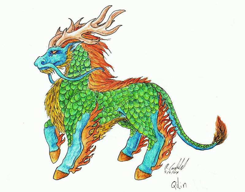Qilin - The Chinese Unicorn