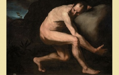 Sisyphus painting, 1600