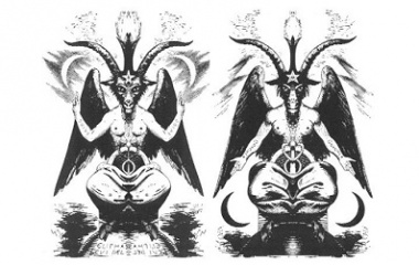 Baphomet twin brothers
