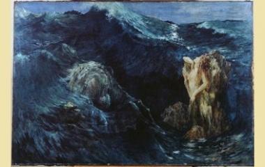 Charybdis painting, 1894