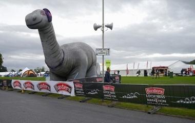 Inflatable Nessie