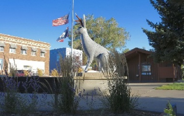 Jackalope Square, Wyoming