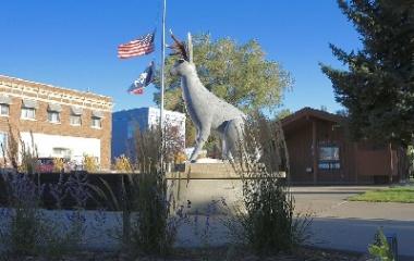 Jackalope Square, Wyoming