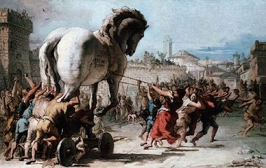 Procession of the Trojan Horse, 1773