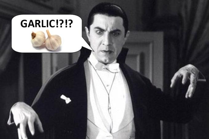 Vampires Hate Garlic