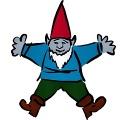 Gnome drawing