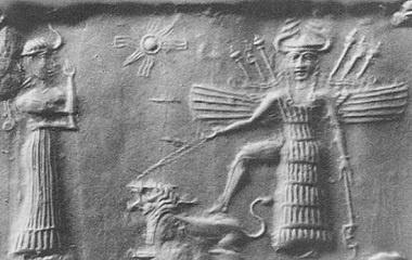 Goddess Inanna, 2334 BC