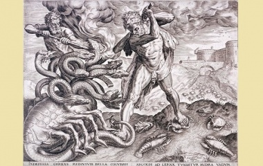 how did hercules defeat the hydra