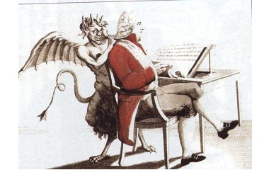Talleyr and devil, 1818