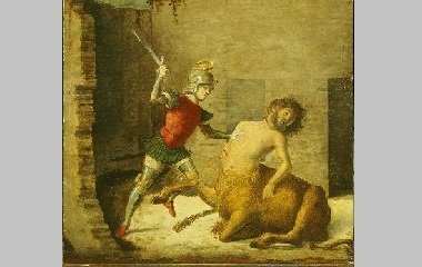 Theseus Minotaur Painting