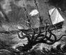 Kraken Seizing A Ship