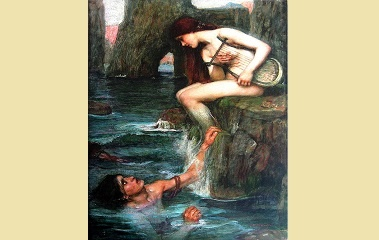 The Siren by John William Waterhouse (1900)