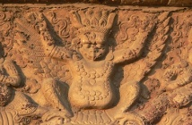 Garuda at Zhenjue Temple