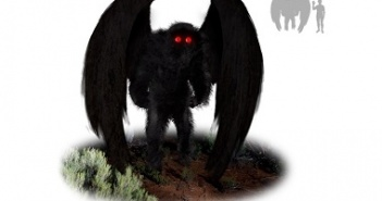 Mothman Artist's Impression