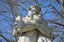 Saturn statue