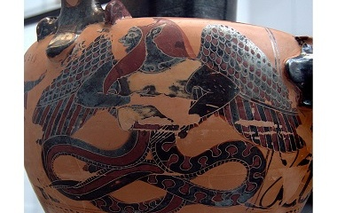 Typhon in ancient Greek pottery