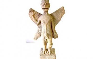 Pazuzu statue