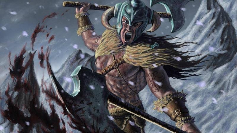 The Norse Berserker Warriors