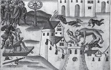 Werewolf in Geneva (1580)