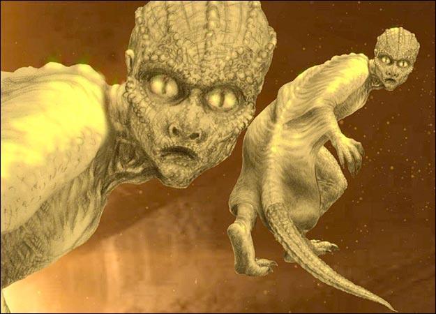 IT'S KAMALA-COMMENCE MUDBALL HURLING What-do-Reptilians-look-like