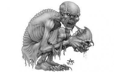 Ghoul sketch