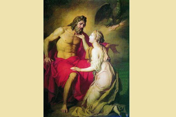 Thetis and Zeus